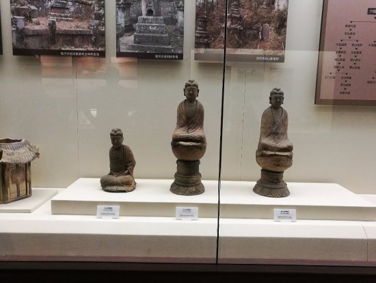 Nanchang, Chiny: Tres figuras de buda