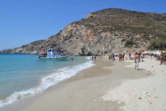 Donousa, Grécia: Δονουσα μαγισα παραλια Λιβαδι