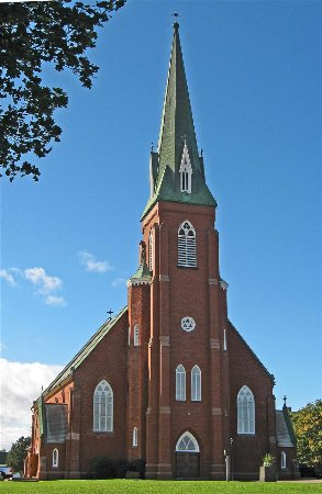 St. Simon & St. Jude Roman Catholic Church, Tignish, PEI