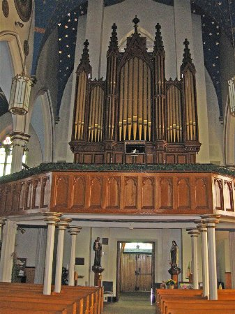 Tignish, Canada: Recently Renovated Organ, St. Simon & St. Jude Catholic Church