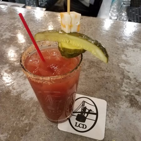 Cedarville, MI: Bloody Mary made with LCD Vodka