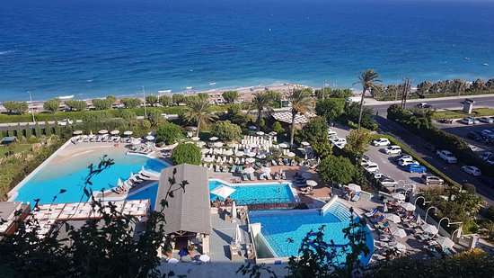 Swimming Pool 11th Floor Picture Of Amathus Beach Hotel Rhodes