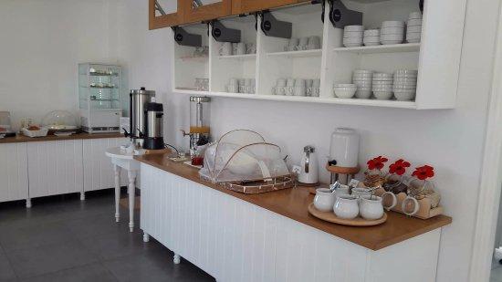 Santa Maria Village Resort & Spa: Ótimo café da manhã estilo buffet.