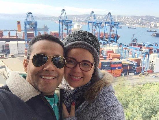 Paseo 21 de Mayo: Com ela em Valparaíso