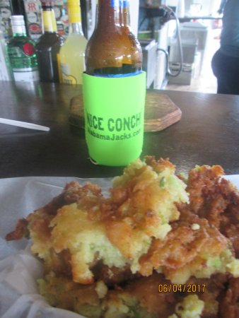 Alabama Jack's conch fritters
