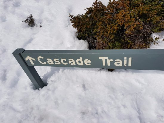 Thredbo Village, Australia: Cascades Trail - Alpine Way near Thredbo