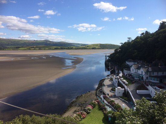 Penrhyndeudraeth, UK: View from the Watch house