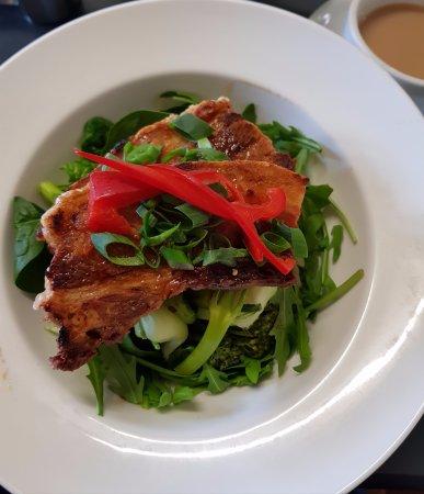 Tilba Tilba, Australia: pork belly - yum!!