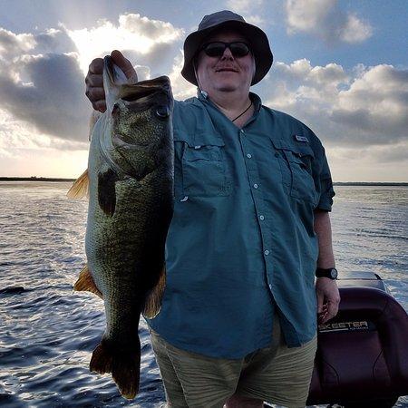 Aj 39 s freelancer bass guide service kissimmee fl for Bass fishing disney world