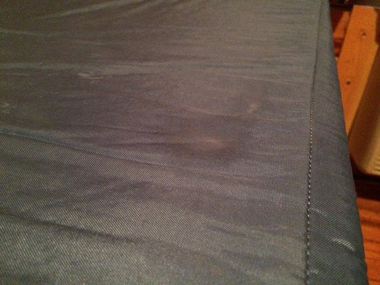 Rock Island, IL: Strange stains on mattresses. Bodily fluids?