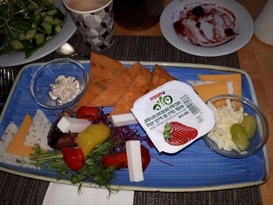 Isrotel Yam Suf Hotel: ארוחות טבעוניות מעולות שקיבלתי מהשף