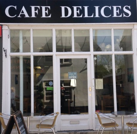 Diss, UK: Cafe Delices