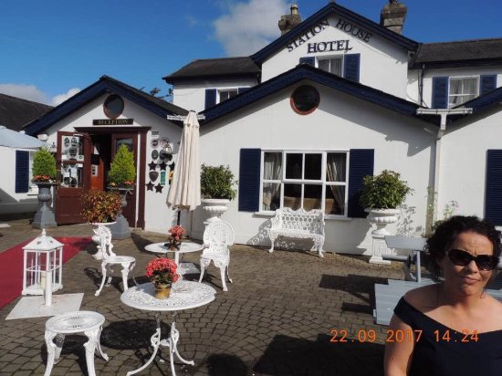 The Station House Hotel: The lovely pato area