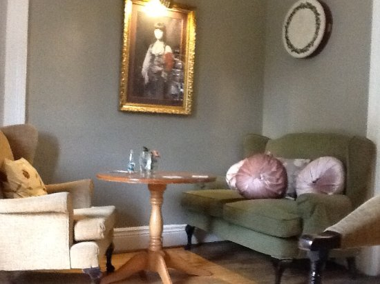 The Station House Hotel: cosy little snug