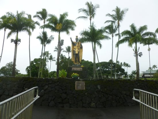 Wailoa River State Recreation Area: Impressive King Kamehameha statue