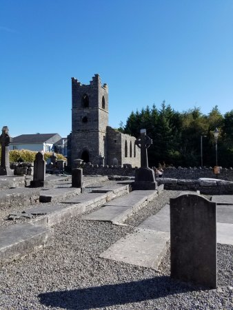 Cong, Ireland: View from the front of the Abbey