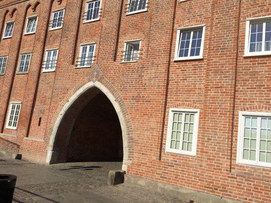 Danzica, Polonia: L'une des portes d'entrée de la ville de Gdansk