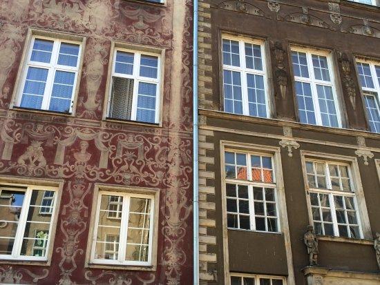 Danzica, Polonia: bâtiments du centre de Gdansk
