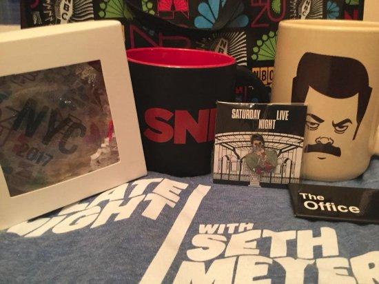 The Shop at NBC Studios : My NBC merch!