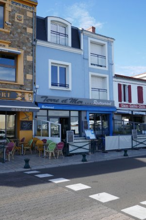 Restaurant Terre et Mer: La devanture