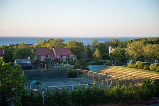 Brewster, MA: Nine Tennis Courts