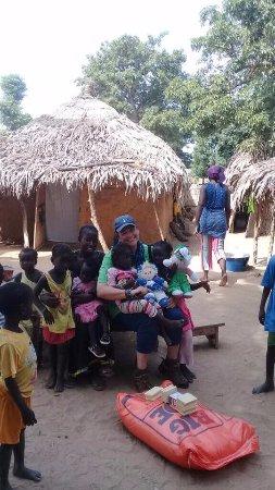 Mbour, Senegal: village de brousse au Senegal