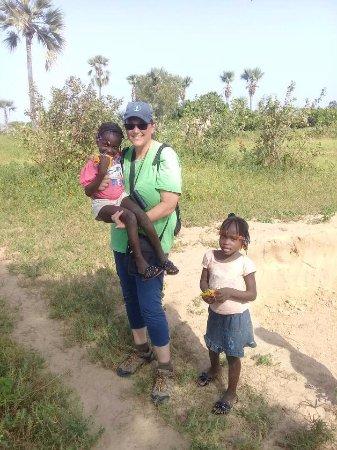 Mbour, Senegal: brousse et village la somone
