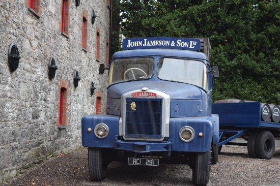 Midleton, أيرلندا: Old truck