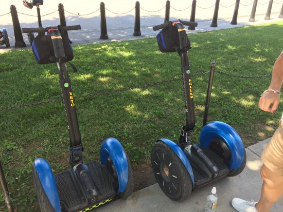 Bike and Roll DC: Parked Segways®
