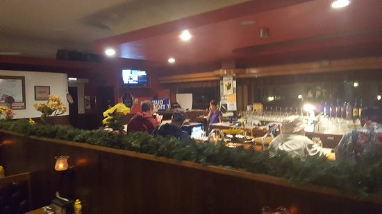 Norway, MI: Bar seating available at Mikes on Main bar