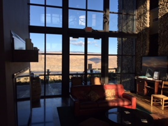 Quincy, WA: View from the lobby.