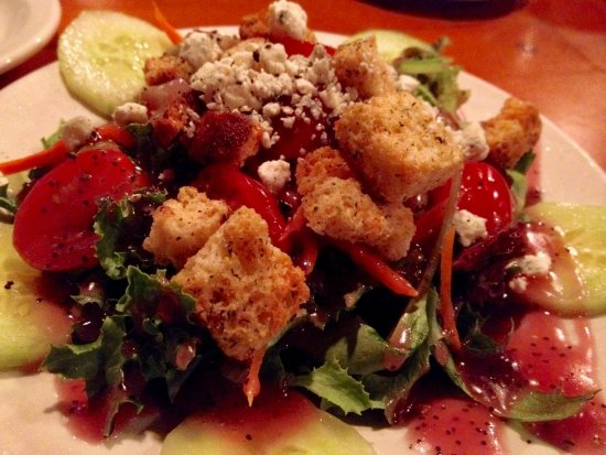 Whitefish Lake Restaurant: Delightful salad, both to look at and taste