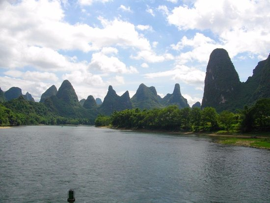 Guangxi, China: A little bit closer to the wonderful bamboo plants