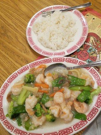 Elkhart, IN: Shrimp with Vegetables