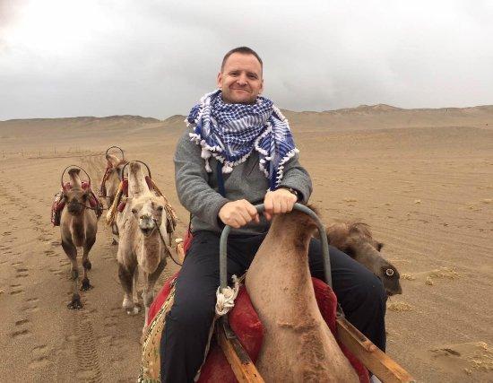 Dunhuang, China: camel riding