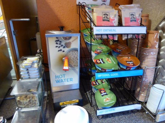 McKinleyville, Καλιφόρνια: Instant Oatmeal