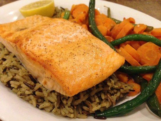 แพลนเทชัน, ฟลอริด้า: Salmon Filet