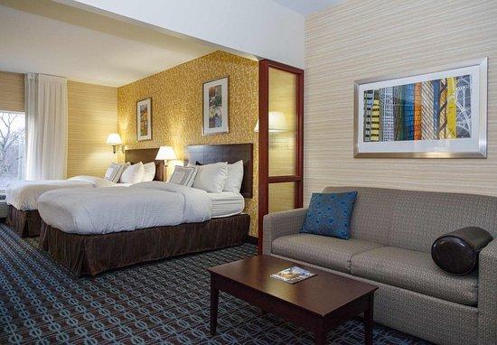 Fairfield Inn & Suites Somerset: Queen/Queen Studio Suite