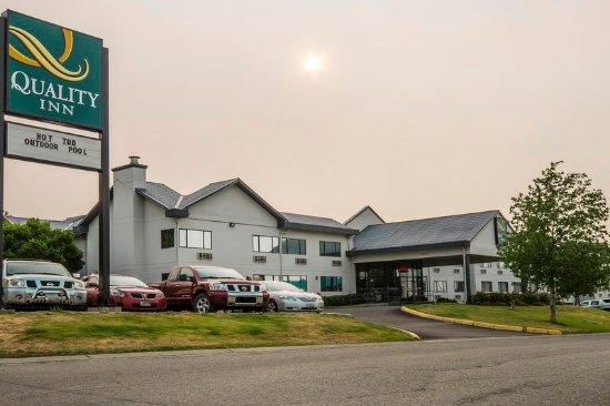 Quality Inn Kamloops: Quality Inn hotel in Kamloops, BC