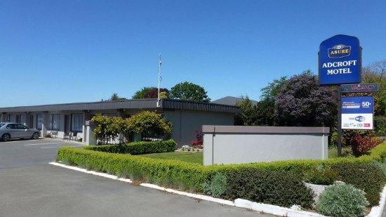 Ashburton, Yeni Zelanda: ASURE Adrcoft Motel