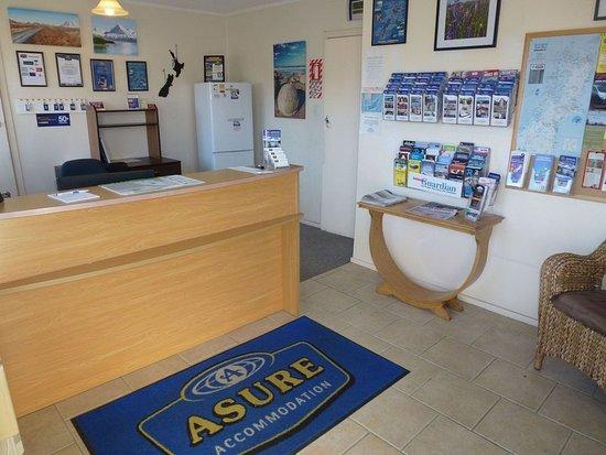 แอชเบอร์ตัน, นิวซีแลนด์: ASURE Adcroft Motel Reception