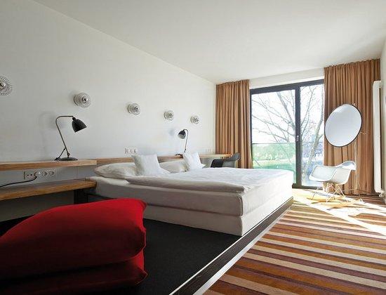 Design room river view picture of designhotel ueberfluss for Design hotel ueberfluss