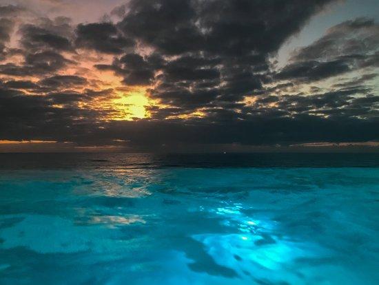 Inn at Nye Beach: Spectacular infinity spa overlooking the ocean.