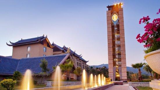 Huizhou, Chiny: Hotel Exterior
