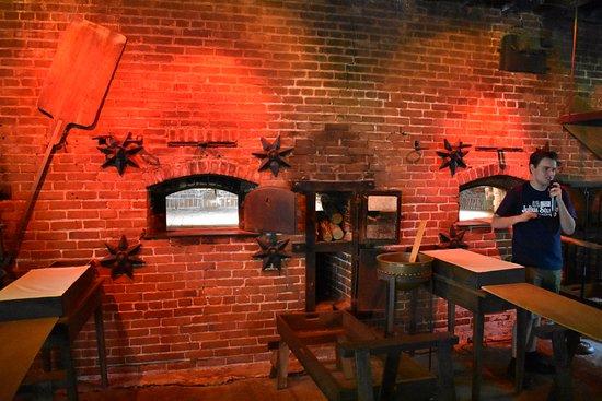 Lititz, Pensilvanya: The pretzel ovens