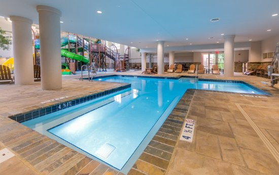 Make a splash at Splash Hollow indoor pool Picture of Holiday