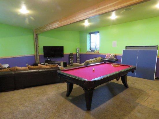 Driggs, ID: Common Area - TV/Game Room