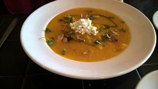 Ellenville, NY: harvest squash soup