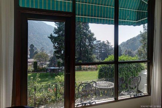 The Manu Maharani Hotel, Nainital: View from the Club Room