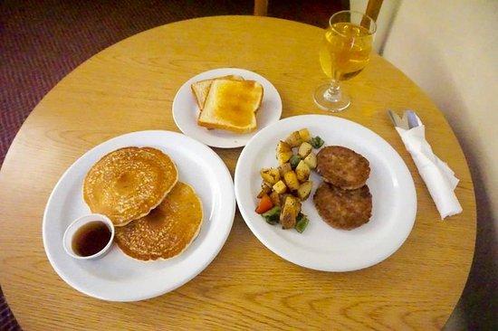 Ridgecrest, Kalifornien: Assorted breakfast items